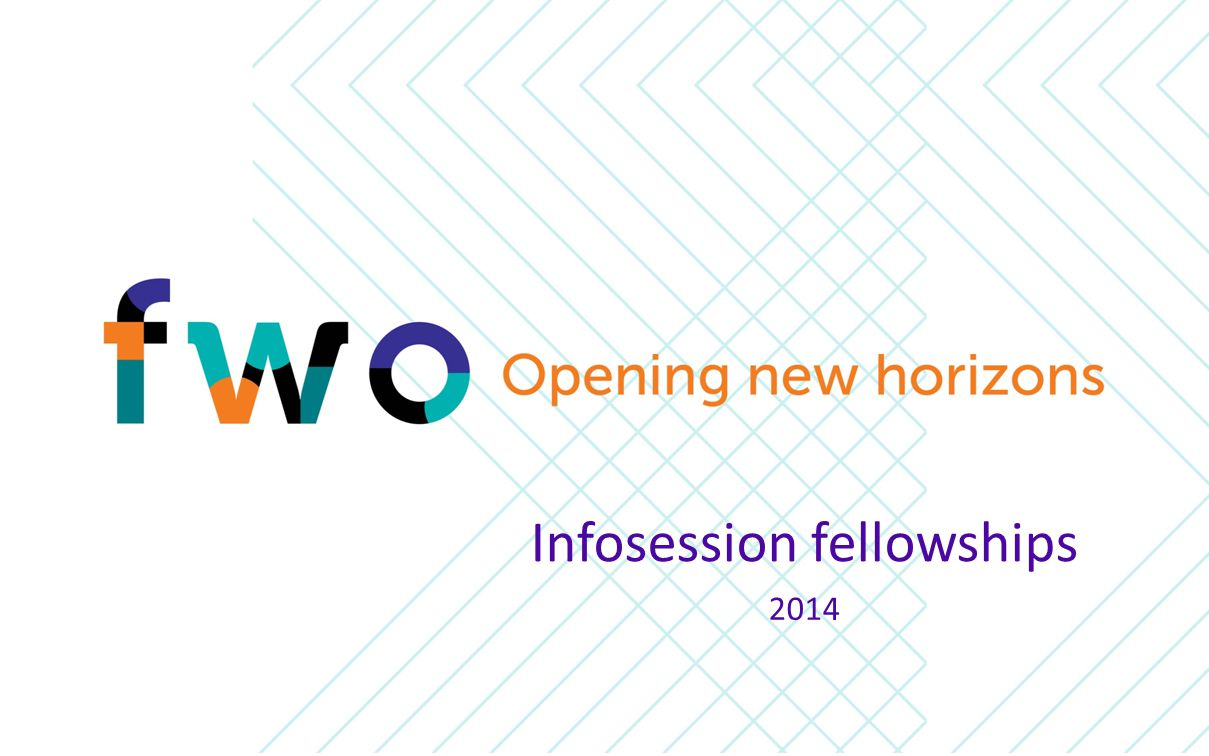 Infosession fellowships