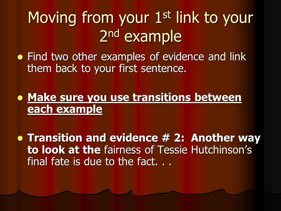 Moving from your 1st link to your 2nd example