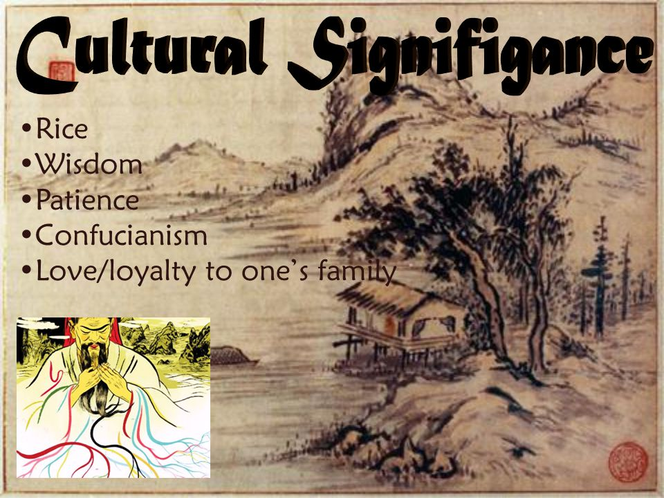 Cultural Signifigance