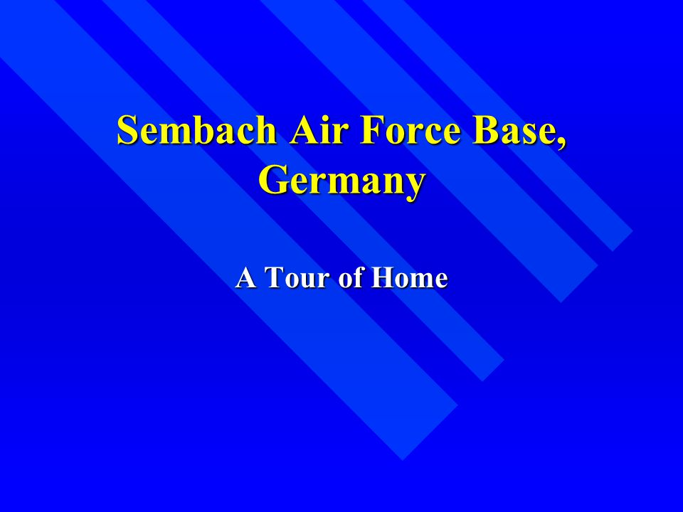 Sembach Air Force Base, Germany