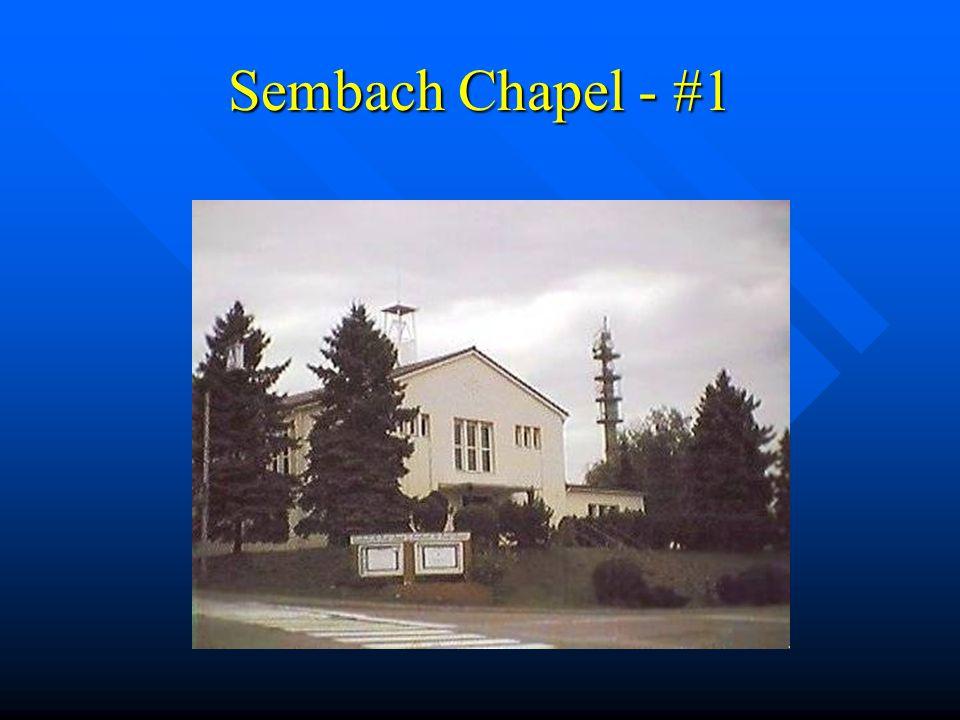 Sembach Chapel - #1