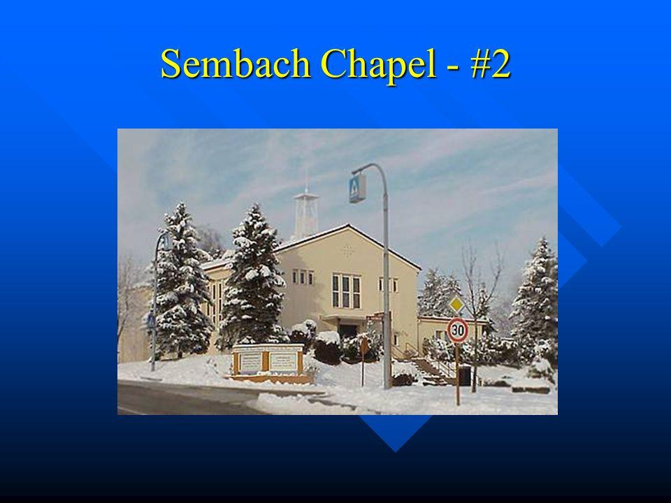 Sembach Chapel - #2
