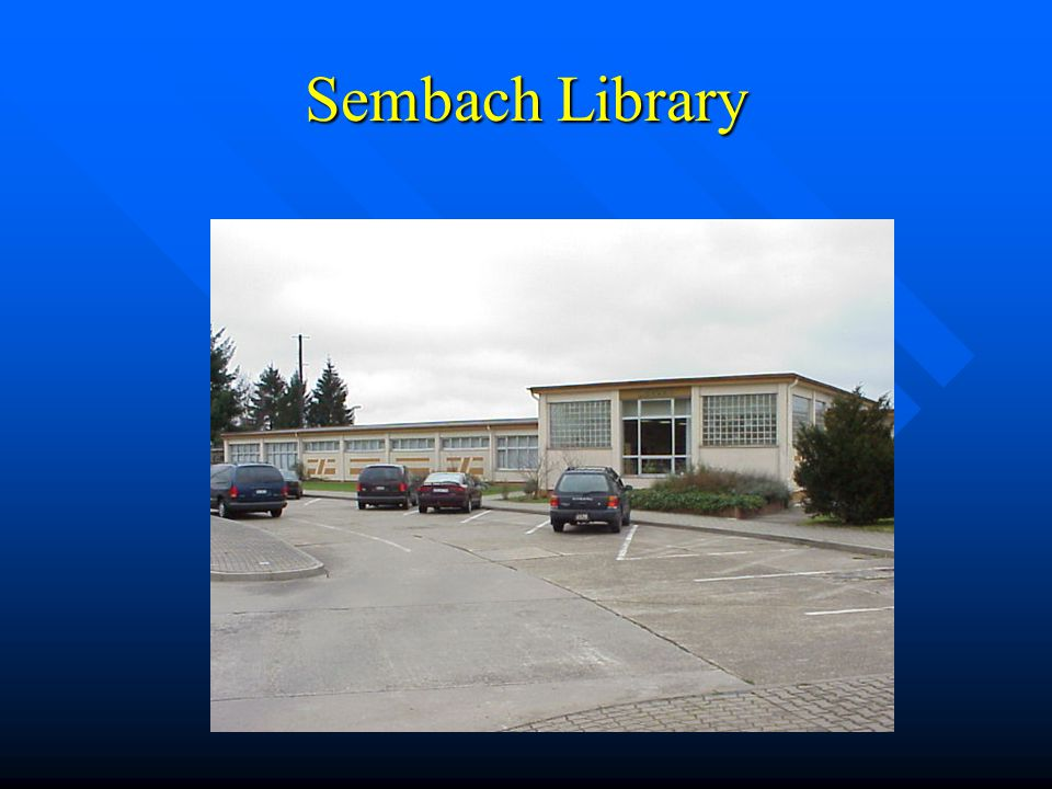 Sembach Library