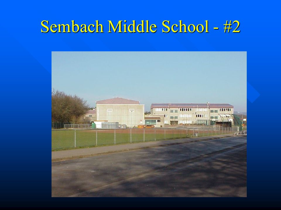 Sembach Middle School - #2