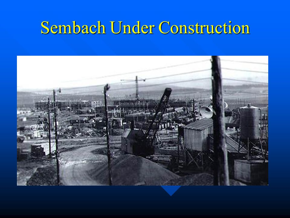 Sembach Under Construction