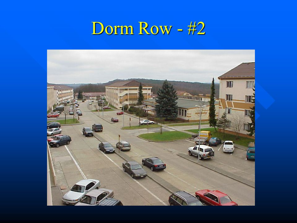 Dorm Row - #2