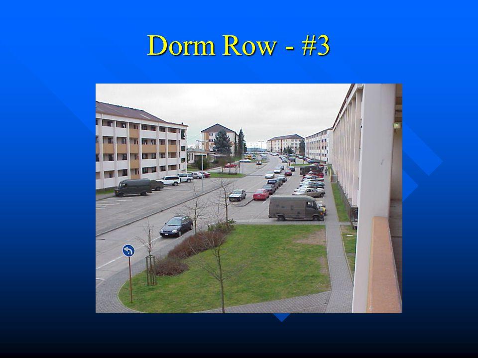 Dorm Row - #3