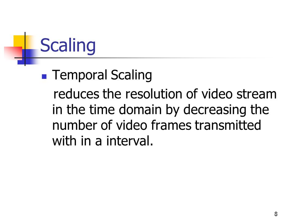 Scaling Temporal Scaling
