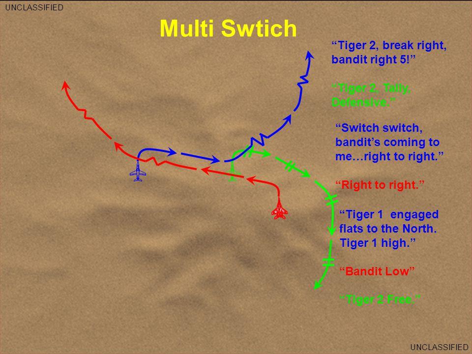 Multi Swtich Tiger 2, break right, bandit right 5!