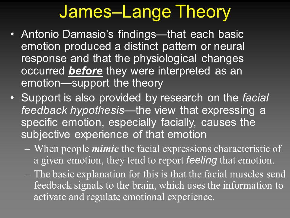 James–Lange Theory