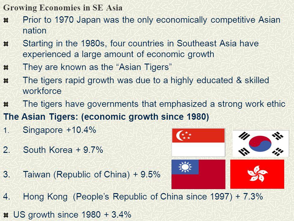 Growing Economies in SE Asia