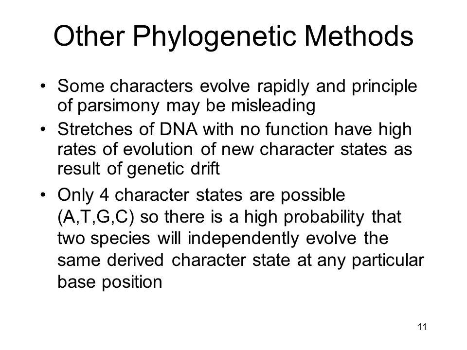 Other Phylogenetic Methods