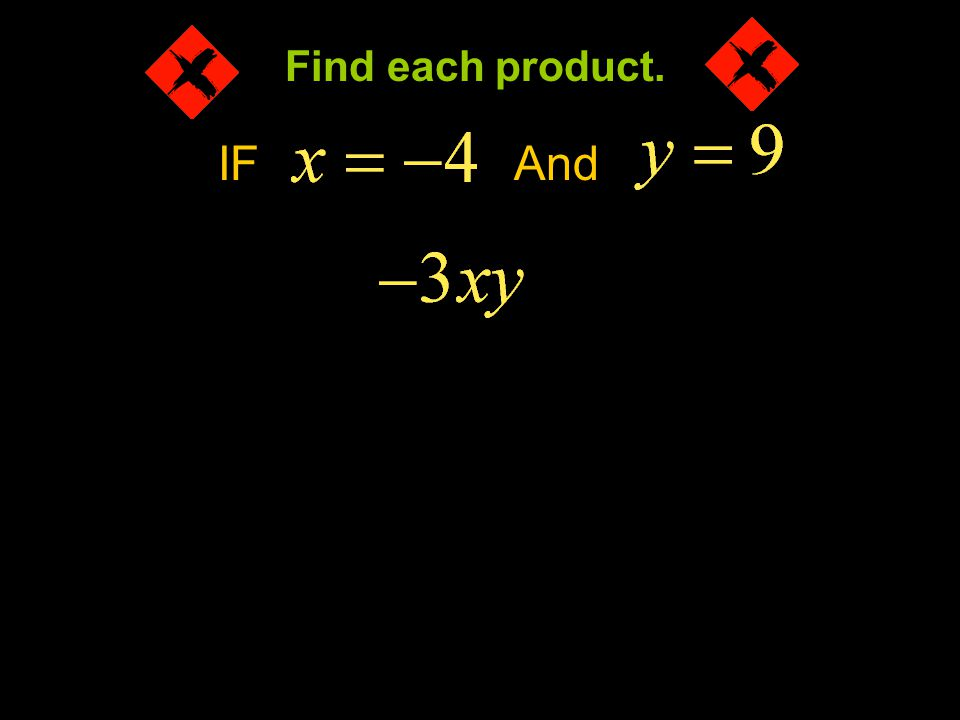 Find each product. IF And Example 4-1a
