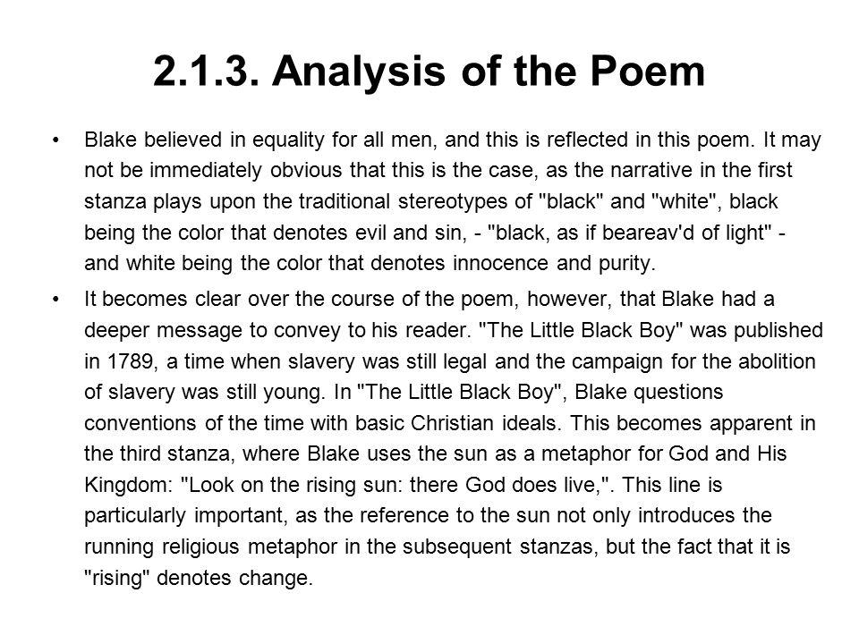 2.1.3. Analysis of the Poem