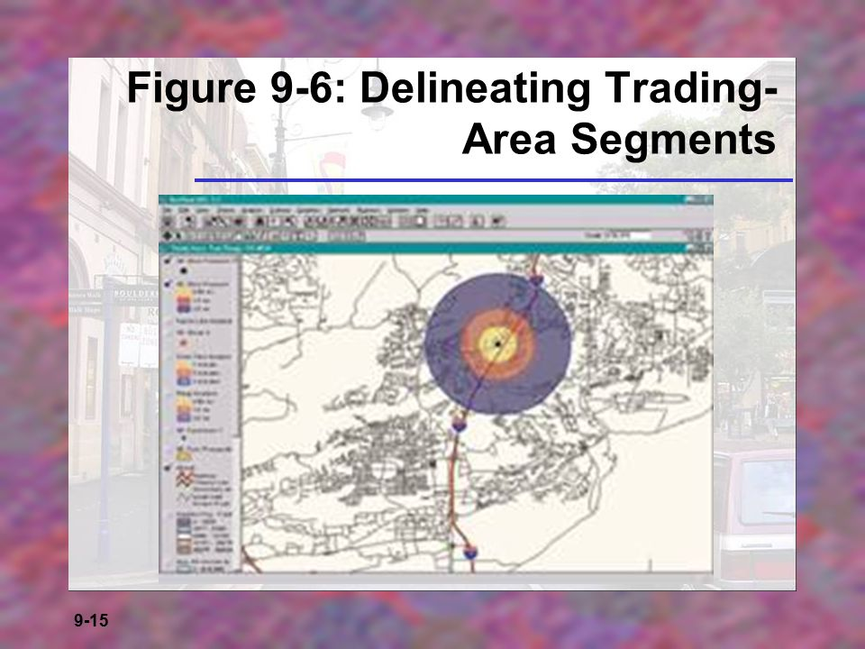 Figure 9-6: Delineating Trading-Area Segments