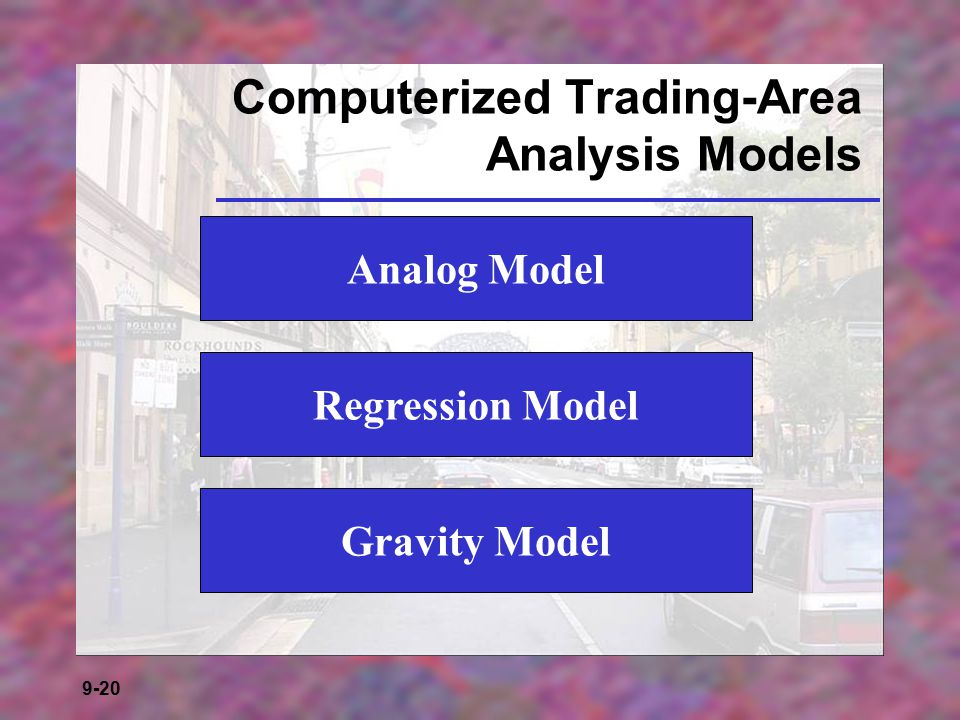 Computerized Trading-Area Analysis Models