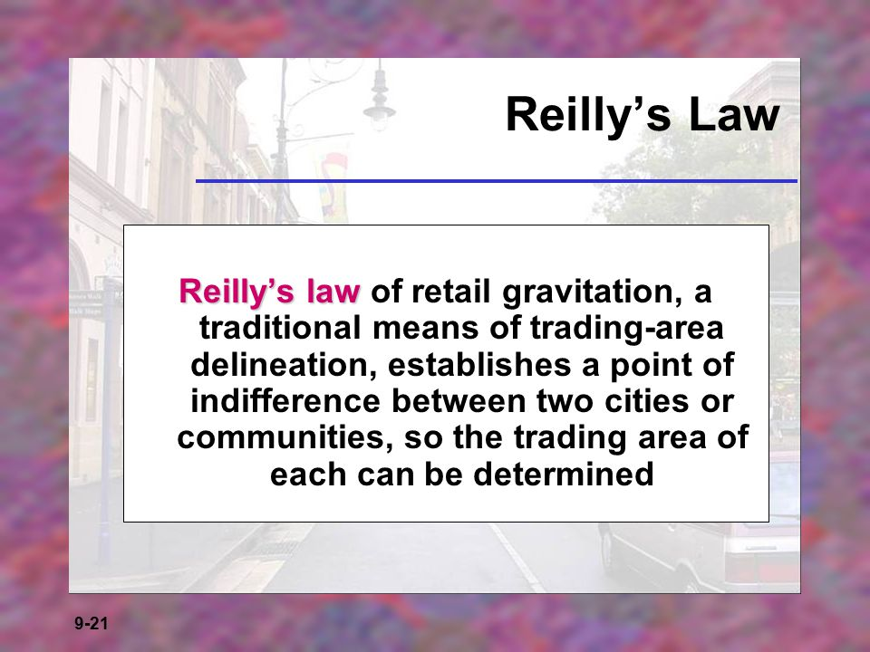 Reilly's Law
