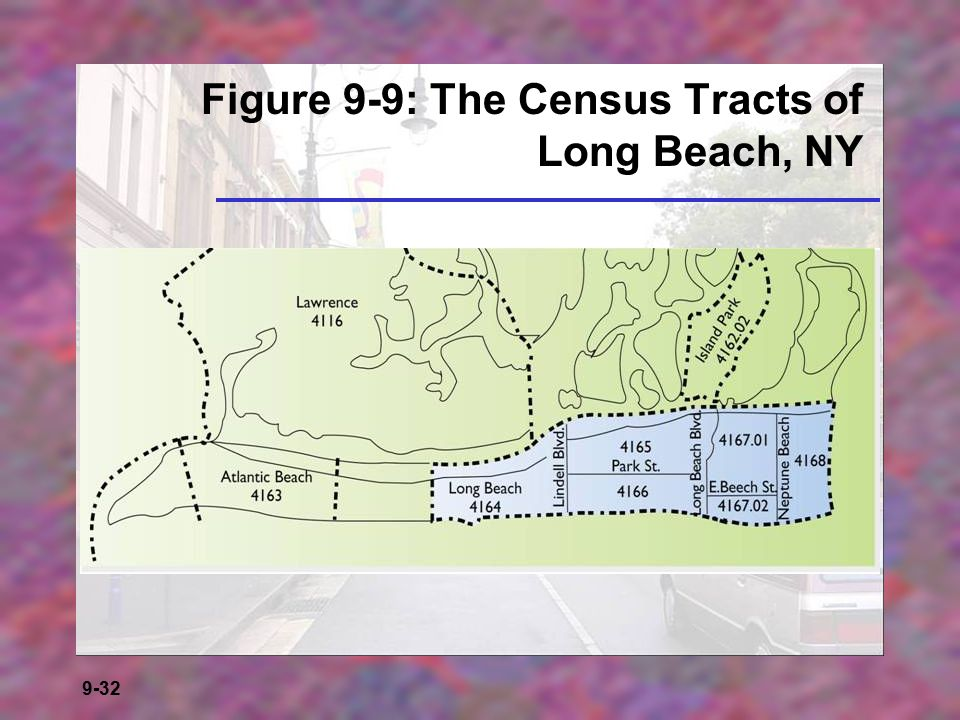Figure 9-9: The Census Tracts of Long Beach, NY