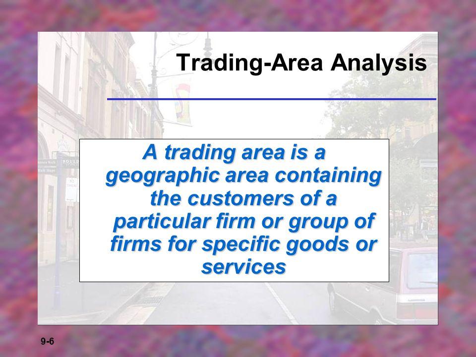 Trading-Area Analysis