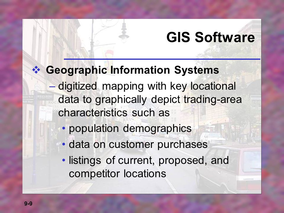 GIS Software Geographic Information Systems