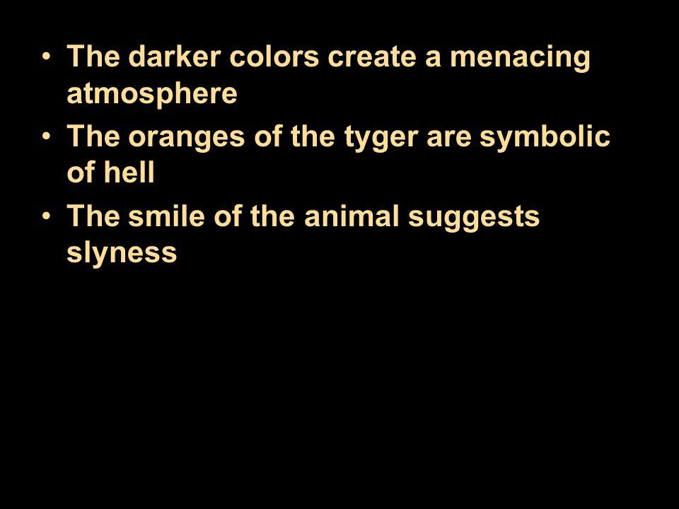 The darker colors create a menacing atmosphere