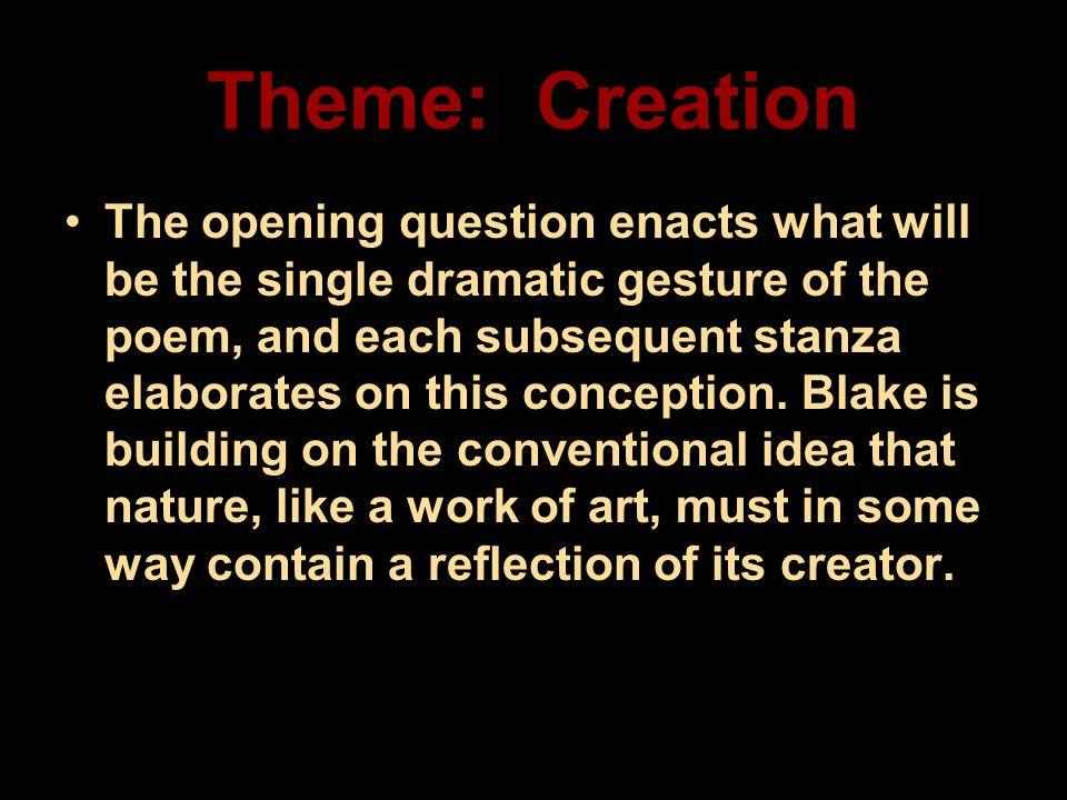 Theme: Creation