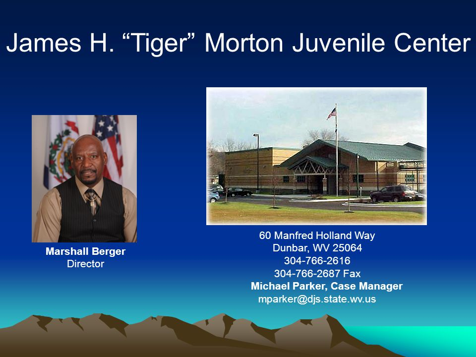 James H. Tiger Morton Juvenile Center