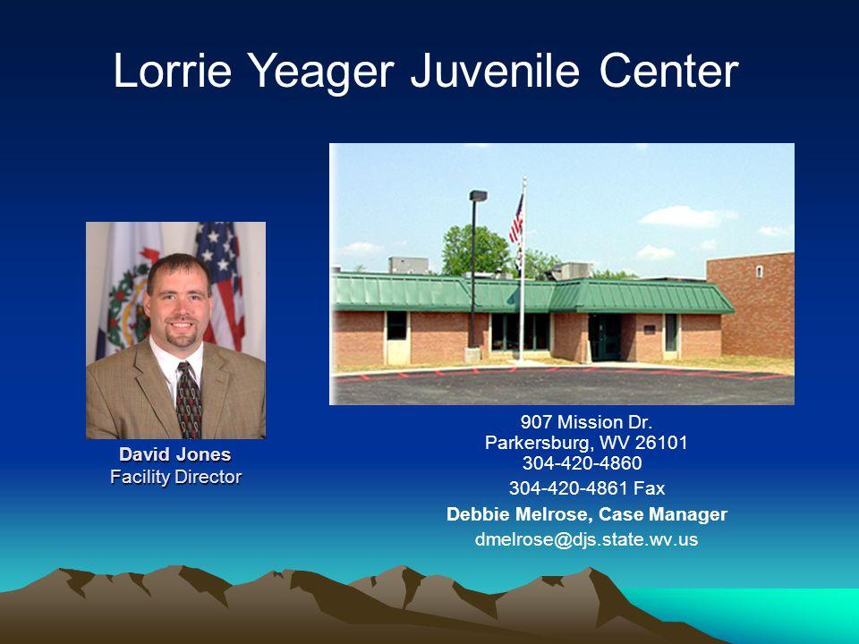 David Jones Facility Director