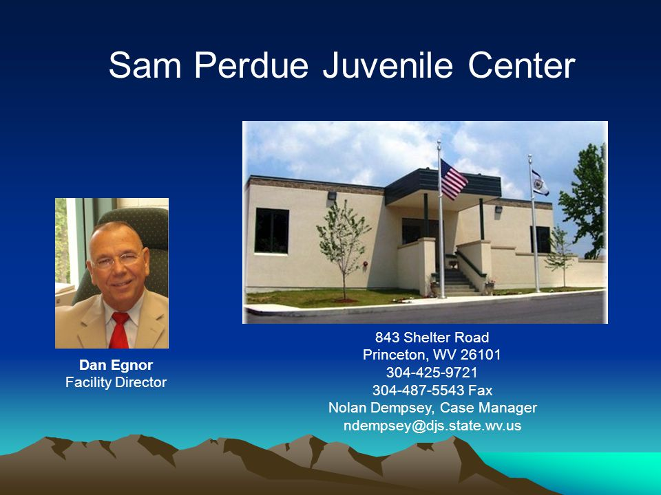 Sam Perdue Juvenile Center