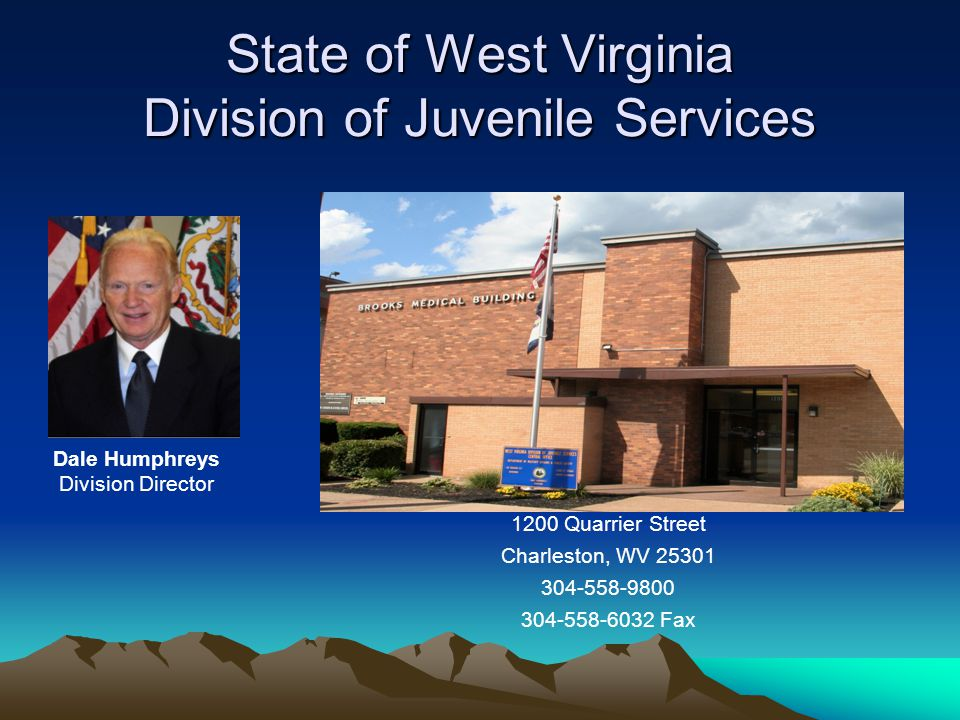 State of West Virginia Division of Juvenile Services