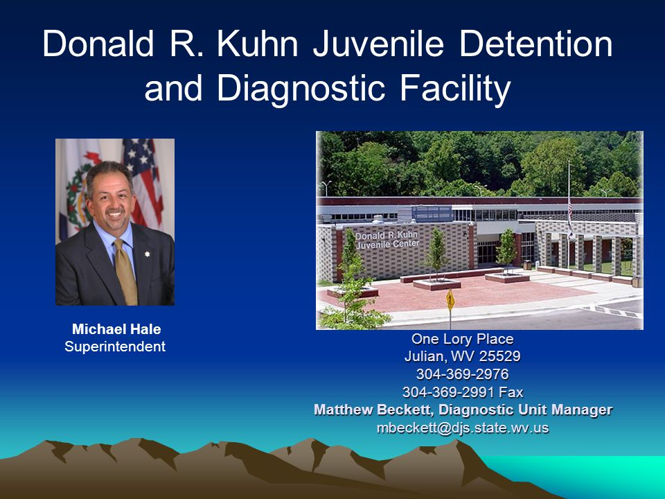 Donald R. Kuhn Juvenile Detention and Diagnostic Facility