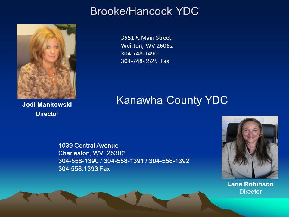 Brooke/Hancock YDC Kanawha County YDC 3551 ½ Main Street