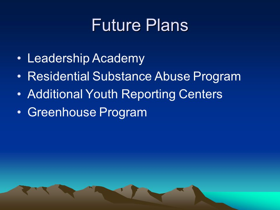 Future Plans Leadership Academy Residential Substance Abuse Program