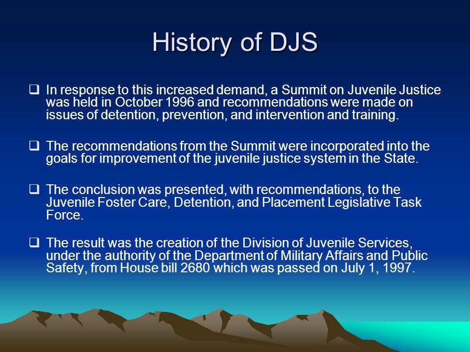 History of DJS