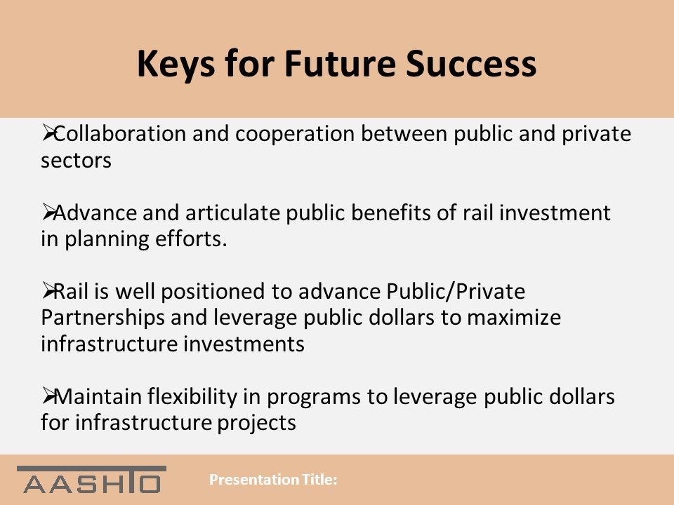 Keys for Future Success