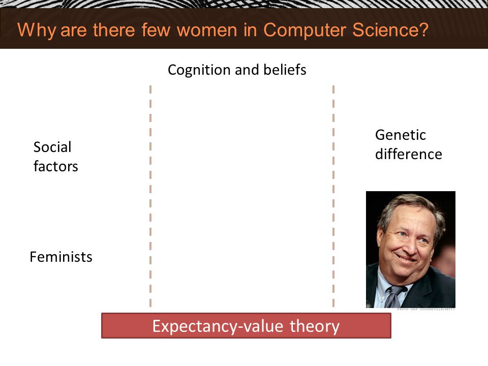 Why are there few women in Computer Science