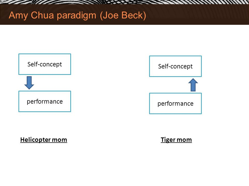 Amy Chua paradigm (Joe Beck)