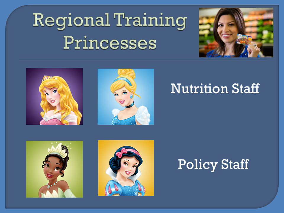 Regional Training Princesses