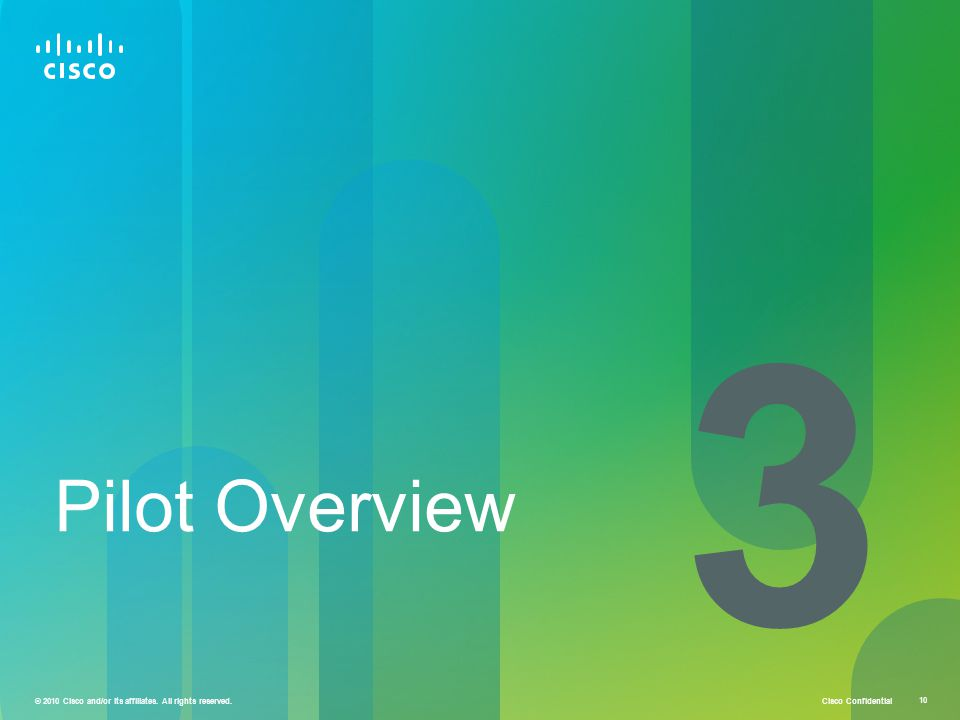 3 Pilot Overview