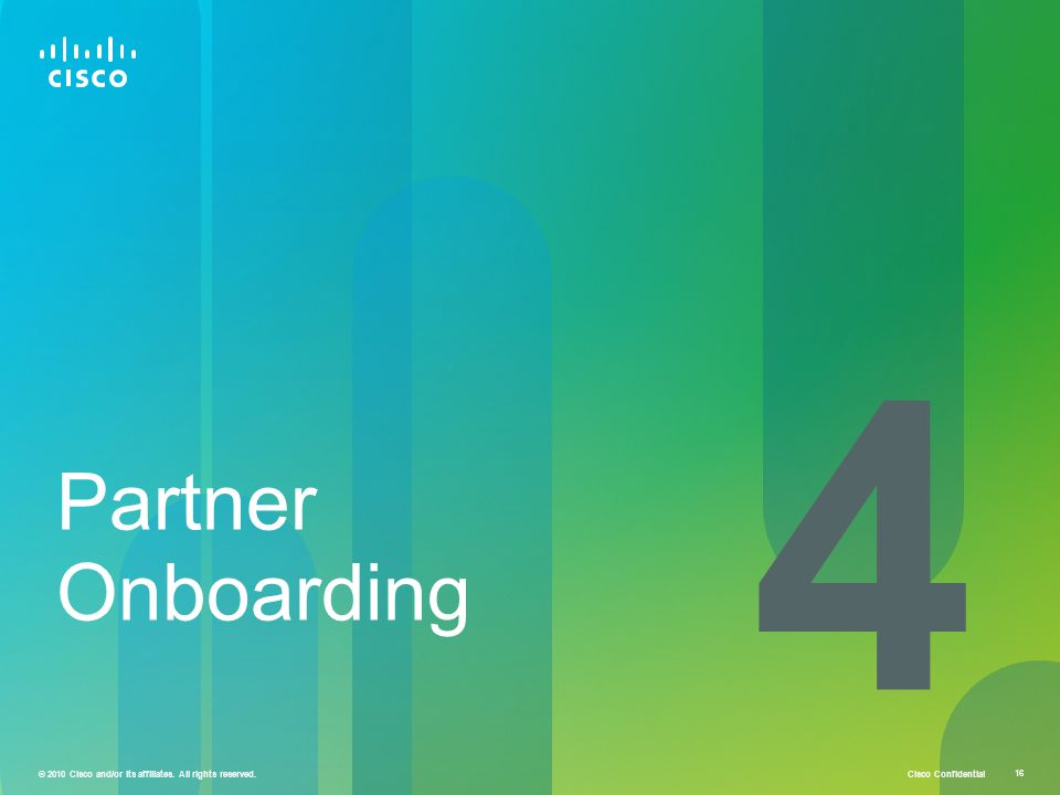 4 Partner Onboarding