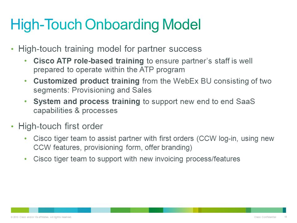 High-Touch Onboarding Model