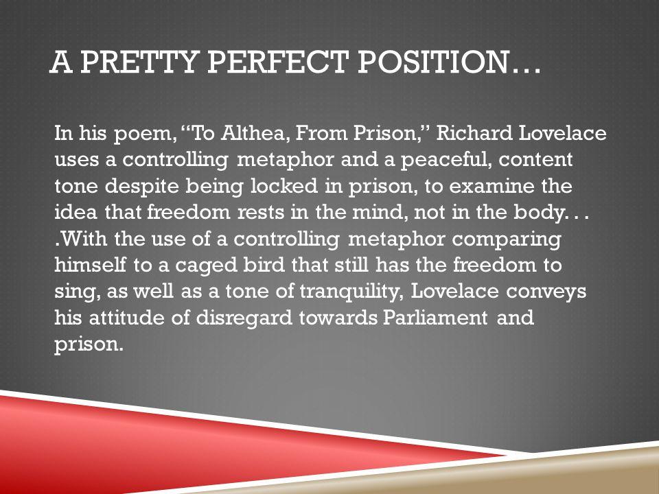 A Pretty Perfect Position…