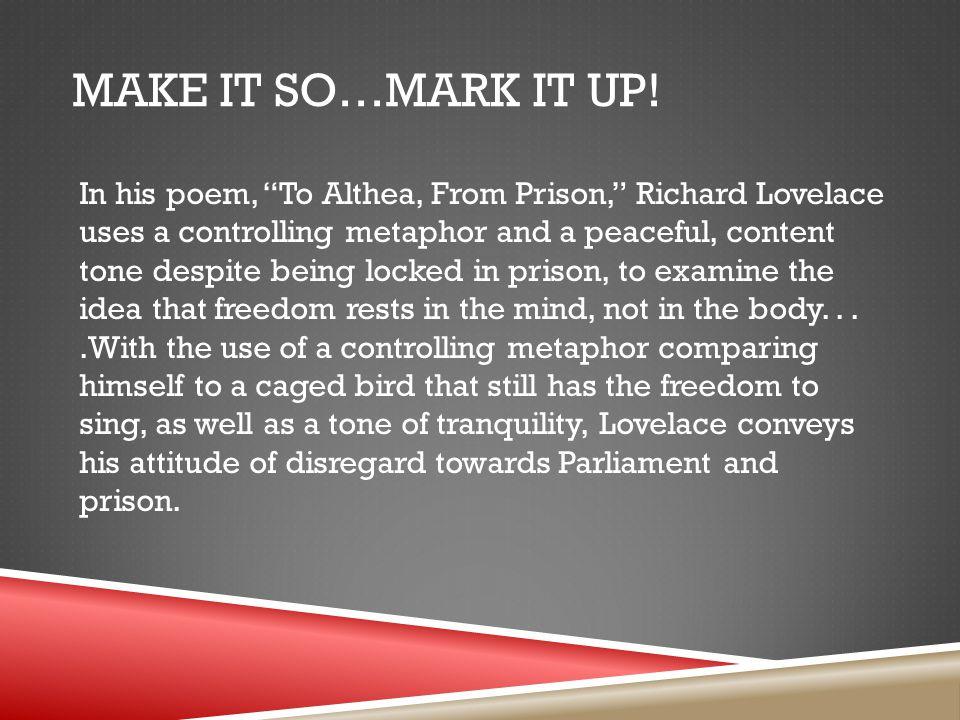 Make it So…Mark it Up!