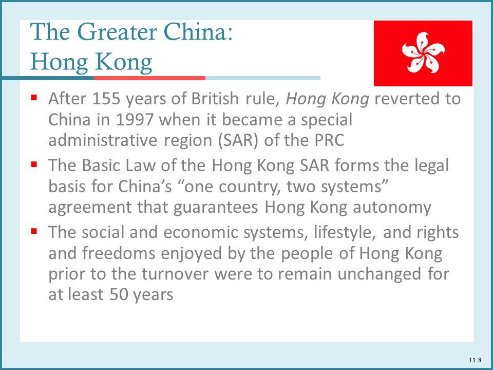 The Greater China: Hong Kong