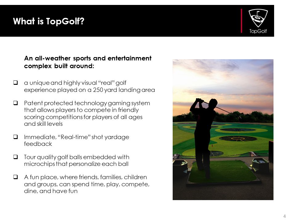 What is TopGolf An all-weather sports and entertainment complex built around: