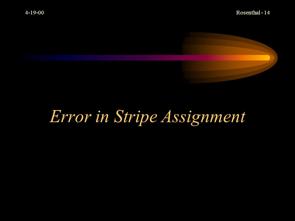 Error in Stripe Assignment