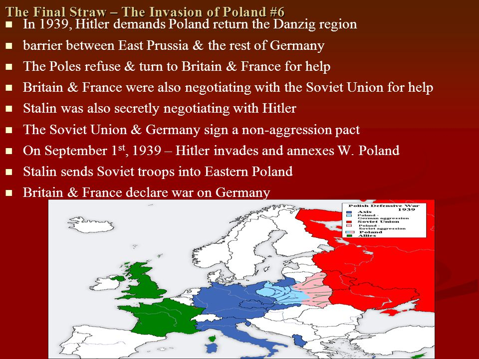 The Final Straw – The Invasion of Poland #6
