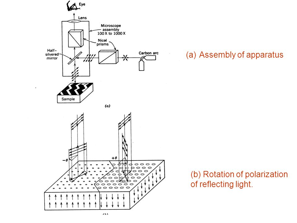 (a) Assembly of apparatus