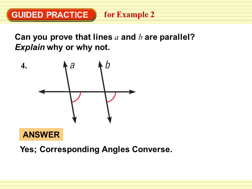 Lesson 1 problem solving practice parallel lines and angle