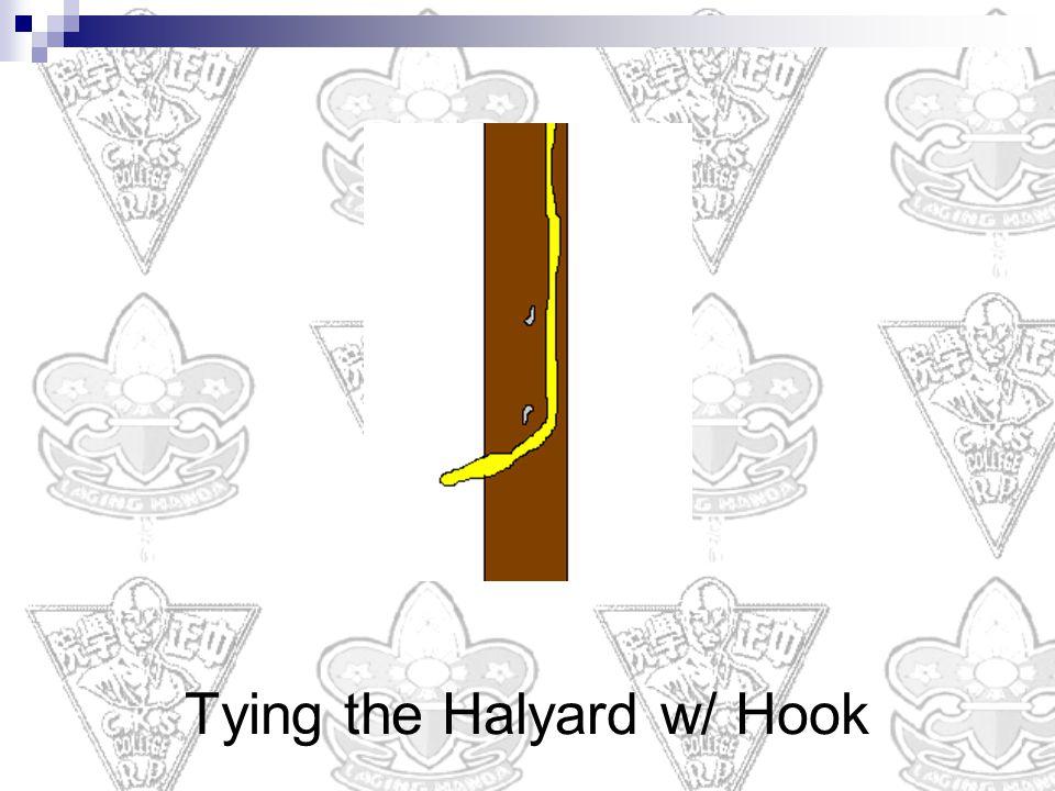 Tying the Halyard w/ Hook